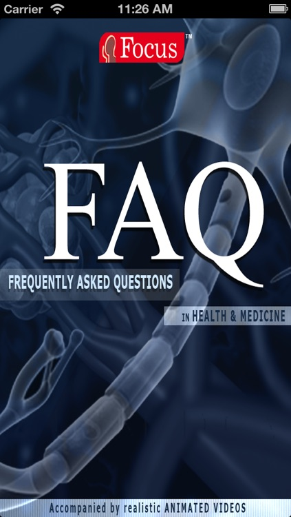 FAQs in Health & Medicine screenshot-0