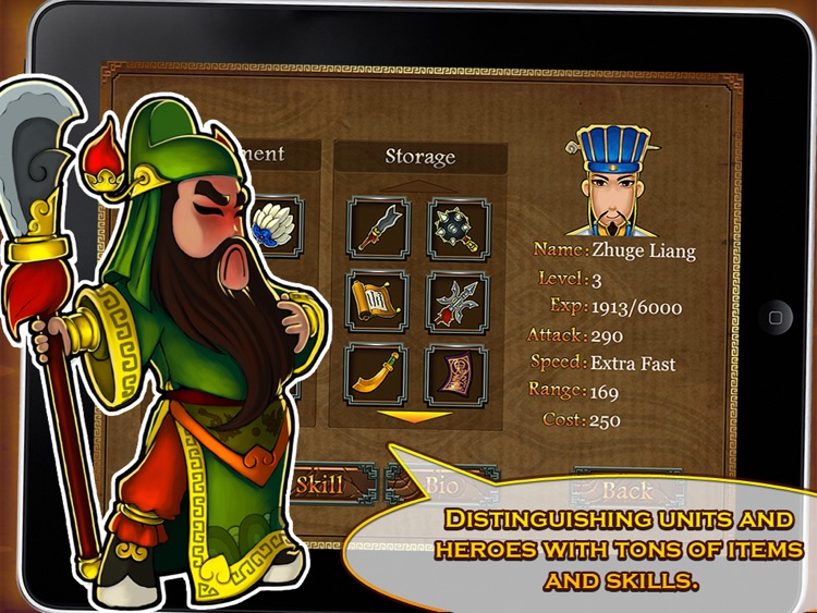 Three Kingdoms TD - Legend of Shu HD Free screenshot-3