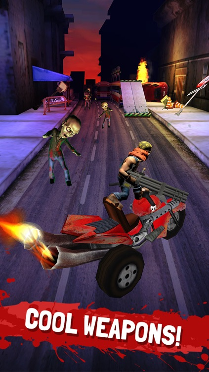 Running Zombie War: Killing Dead - by Fun Games For Free screenshot-2