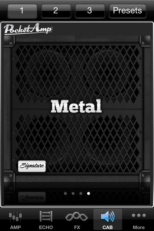 PocketAmp - Guitar Amp and Effects screenshot-4