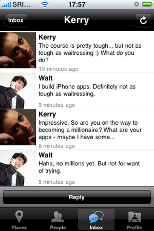 Singles foursquare dating app