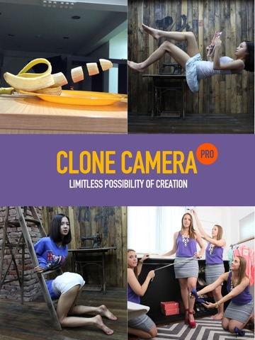 Clone Camera Pro for iPad Screenshot