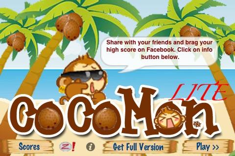 Air CocoMon LITE: Free Flight of the Monkey Coconut