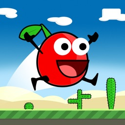 Cherry Triple Jump & Run - Really Hard and Addicting One Touch Platformer