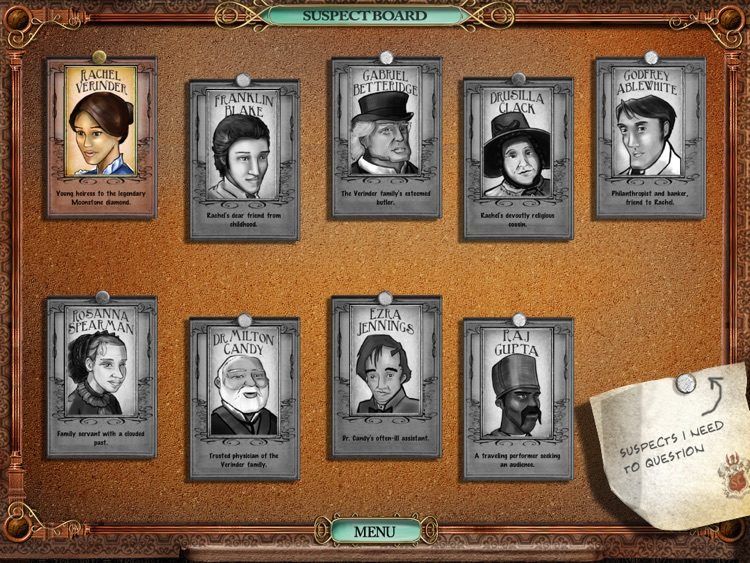 Victorian Mysteries®: The Moonstone HD screenshot-0
