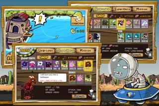 9Heroes Defence : Zombie Invasion iPhone app afbeelding 2