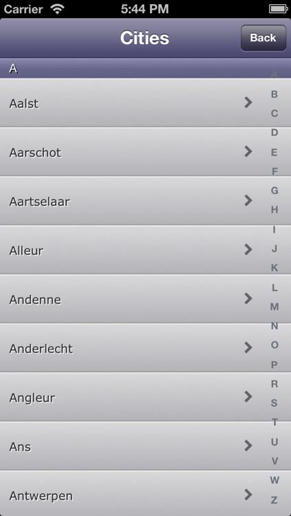 Zoek Fastfood Belgium screenshot-3