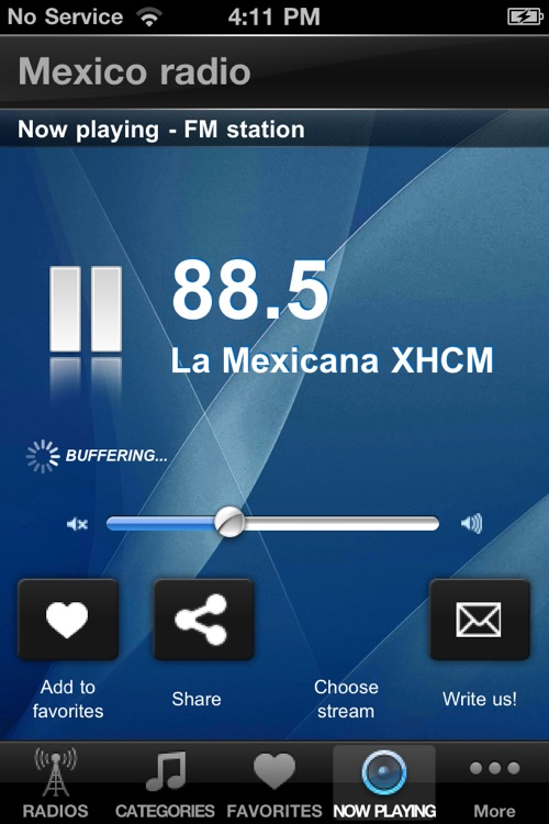 Mexico Radio Stations Player screenshot-4