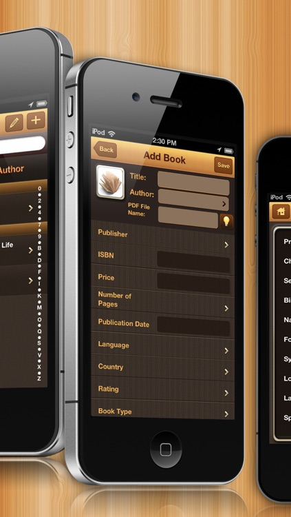 BookCatalog - Pocket Library screenshot-3