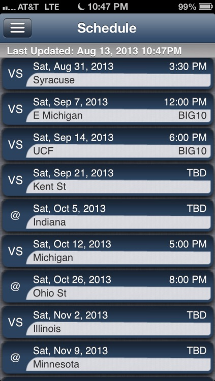 Penn State Football Live screenshot-2