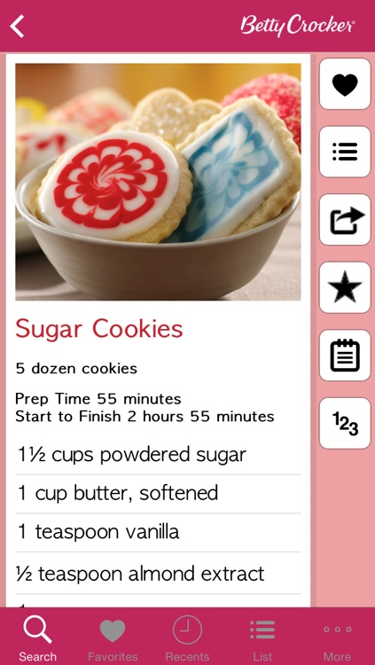 Cookie Recipes: Betty Crocker The Big Book of Series