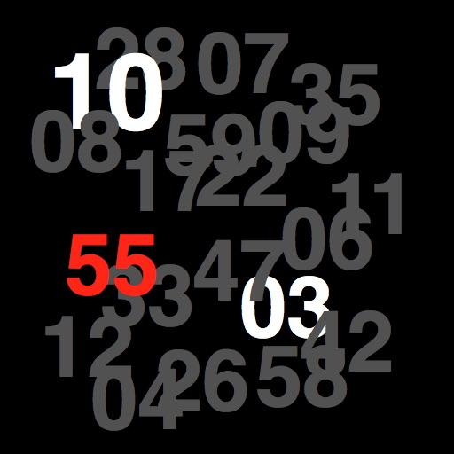 Number Clock icon