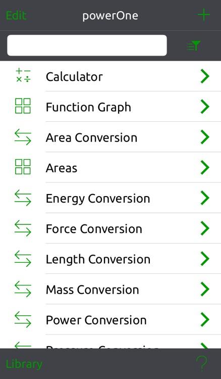 powerOne Scientific and Graphing Pro Calculator screenshot-3