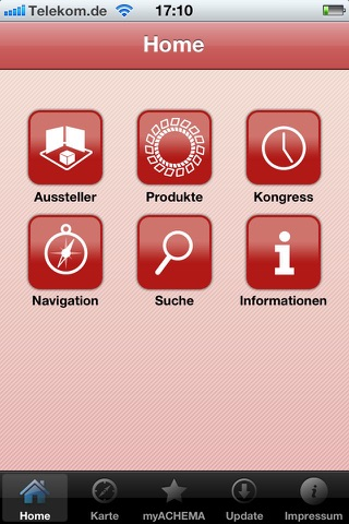 ACHEMA 2012 -  World Exhibition Congress on Chemical Engineering, Environmental Protection and BiotechnologyScreenshot von 2