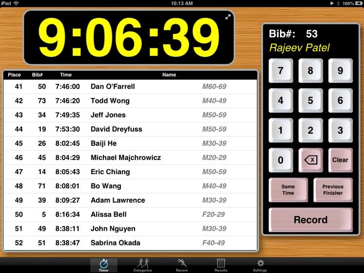 PocketTimer Pro for iPad
