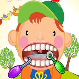 Crazy Dentist Doctor Office - Happy Christmas Kids Games Free HD