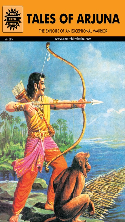 Tales of Arjuna -Lite (World's Greatest Warrior) - Amar Chitra Katha Comics