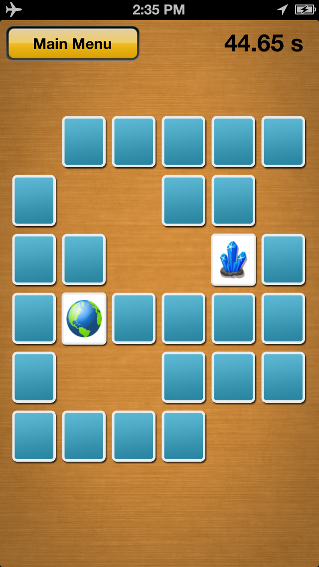 Memory Matches Screenshot
