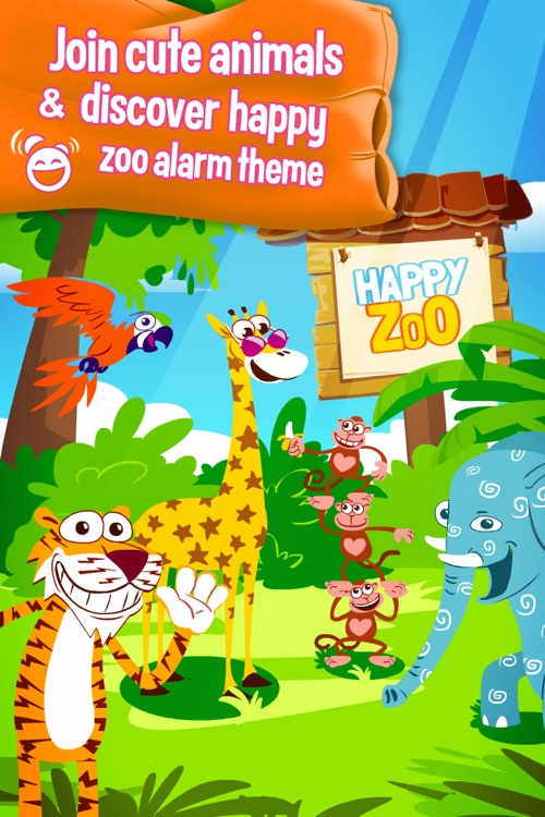 WakeU ZOO - a fun alarm clock