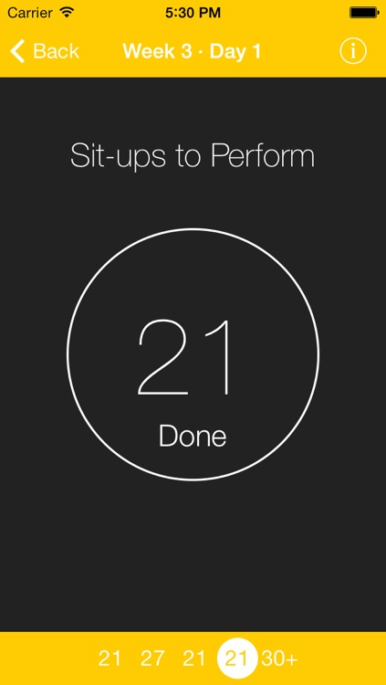Just 6 Weeks: 200 Situps screenshot-3