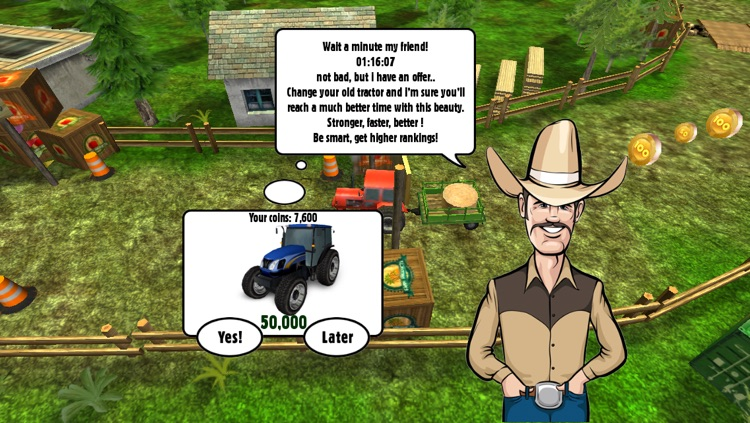 Tractor: Skills Competition - Farm Driver Skill Racing  Simulator Game screenshot-4