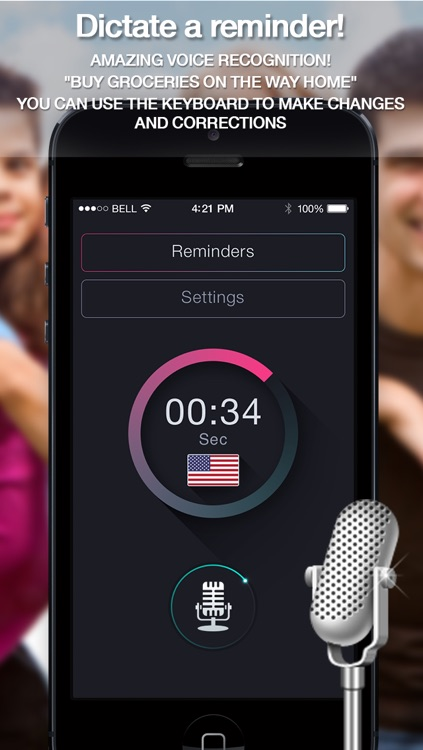 Voice Remindеrs - Dictate notes, create your calendar notifications, memos  and custom alerts by Volgan Shpitz