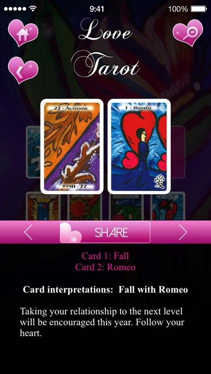 Love Tarot ! screenshot-4