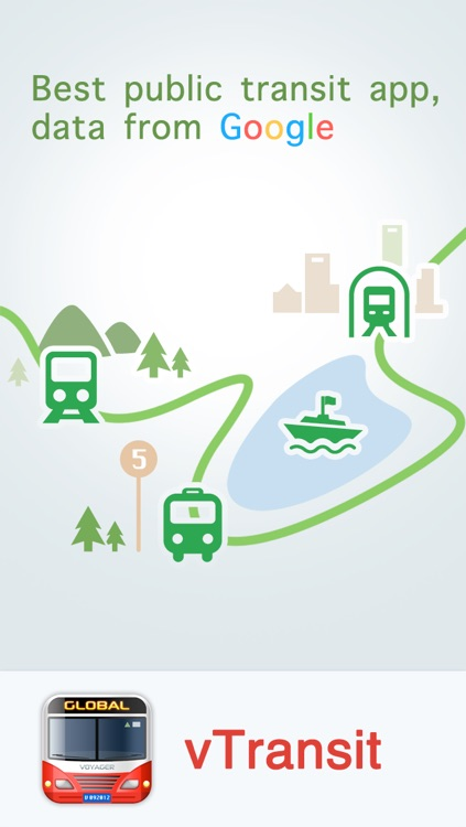 vTransit free - USA public transit search