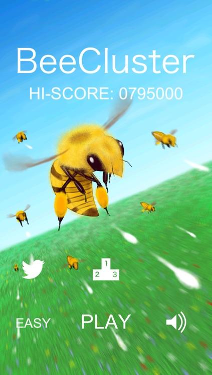 BeeCluster - FREE top-down scrolling shoot 'em up game screenshot-3