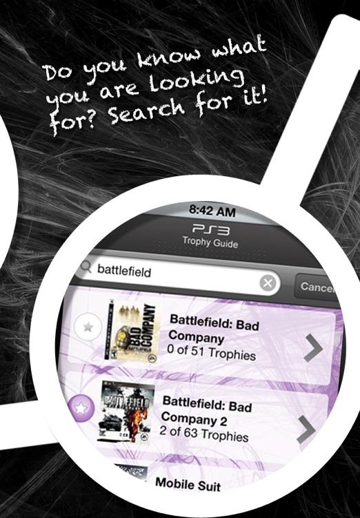 PS3 Trophy Guide screenshot-3