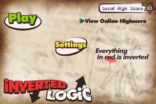 Inverted Logic Lite Screenshot on iOS