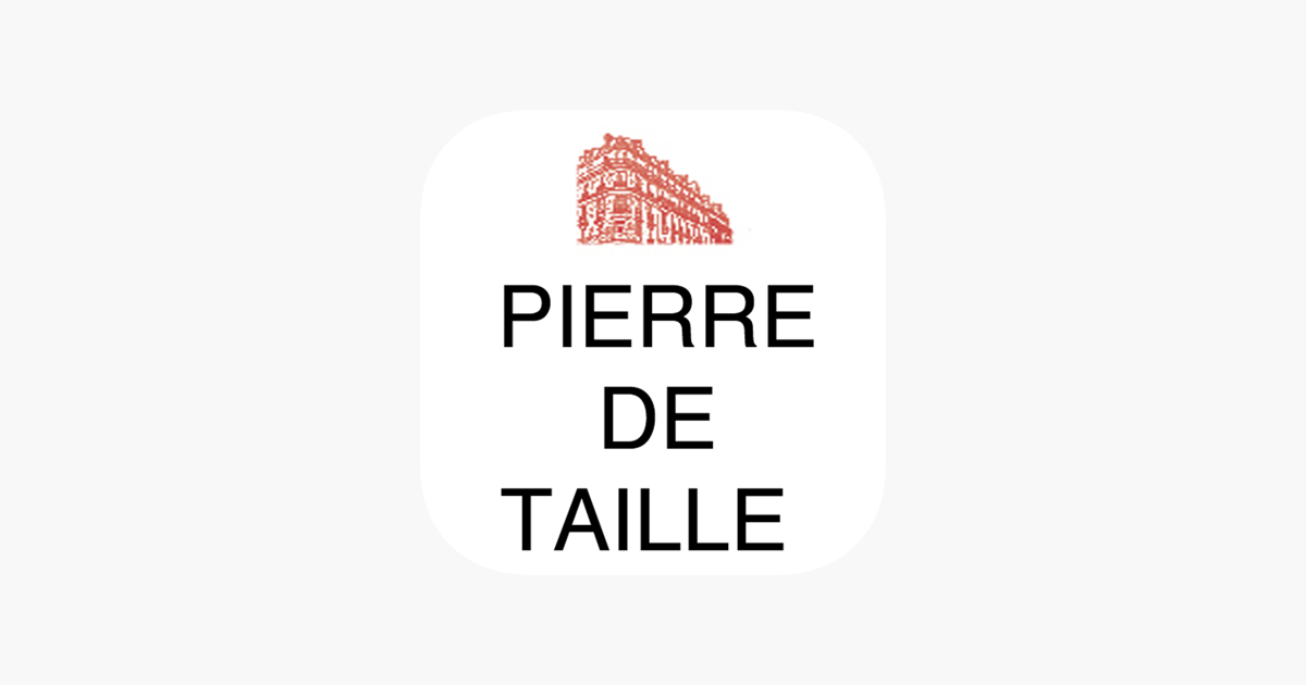 app store agence pierre de taille immobilier. Black Bedroom Furniture Sets. Home Design Ideas