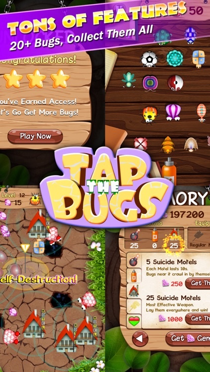 Tap the Bugs screenshot-4