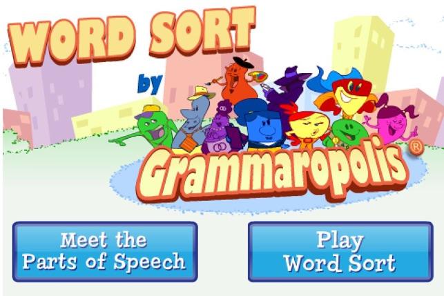 word sort by grammaropolis on the app store