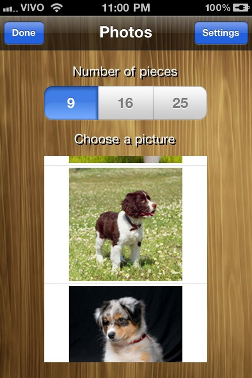 Bright puzzles: Puppies Lite