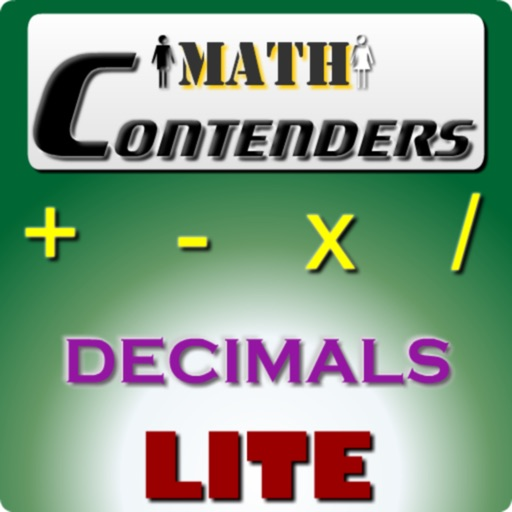 Math Contenders Decimals Lite icon