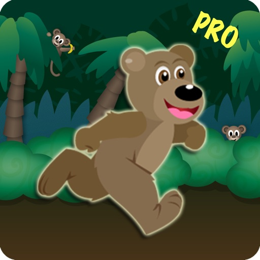 Jungle Bear Jump Coin Hunting Adventure - Top Land Running Trap Jumper Pro