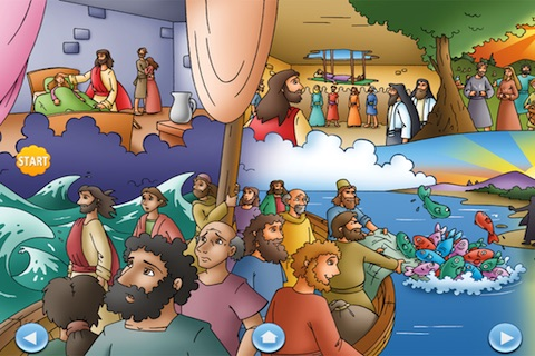 Lift-The-Flap Bible Stories screenshot-3