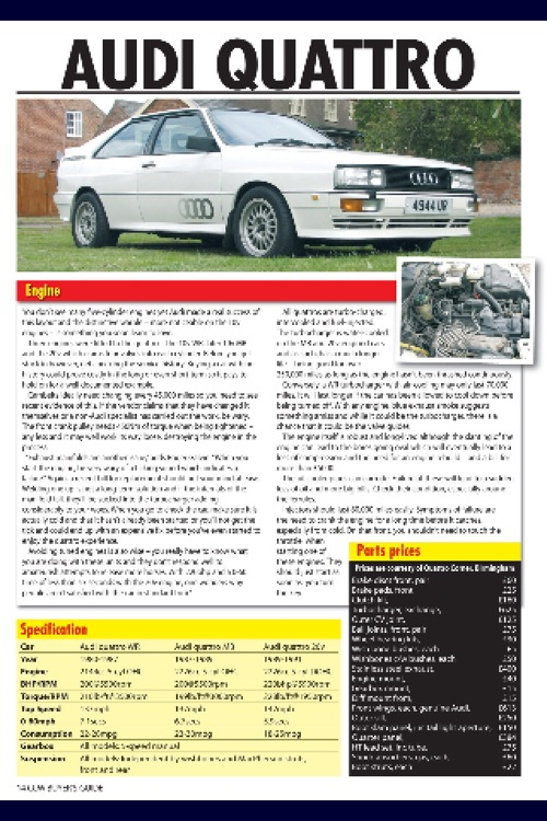 Classic Car Buyer's Guide