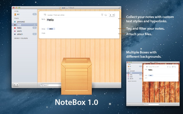‎Notebox Screenshot