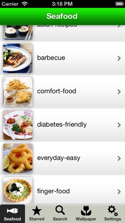 Seafood Recipes & Fish