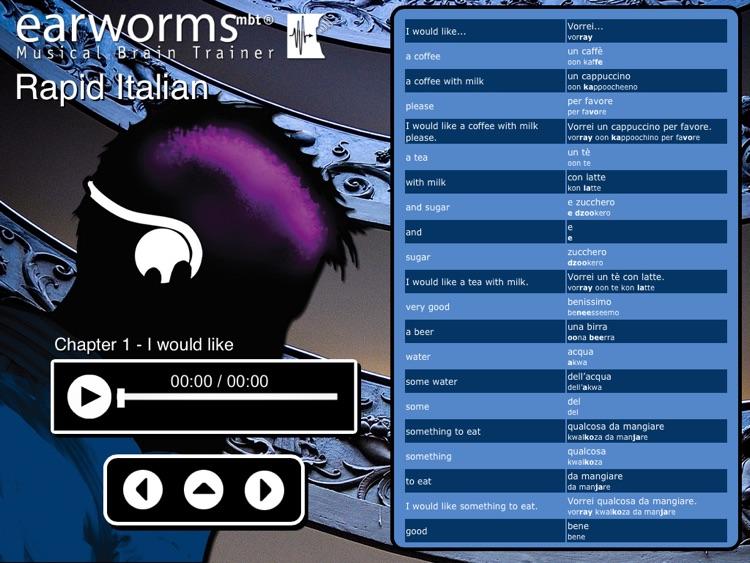 Rapid Italian for iPad screenshot-3