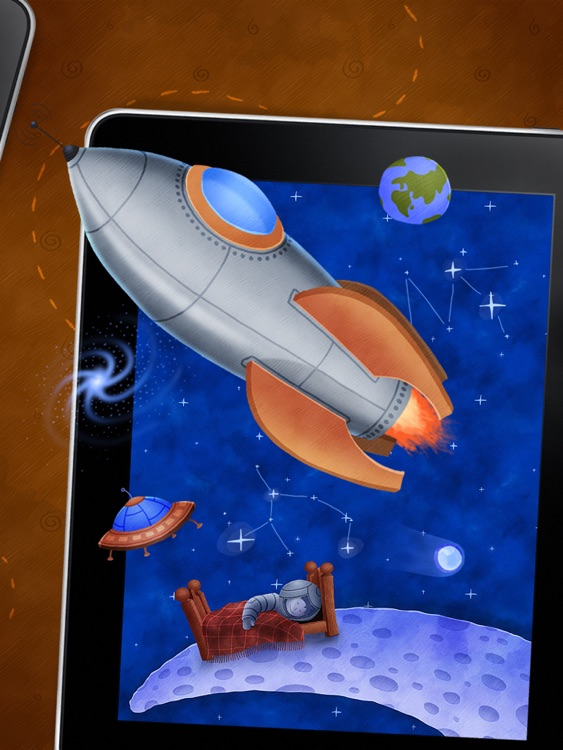 Who Stole The Moon? - Interactive e-book for children screenshot-4