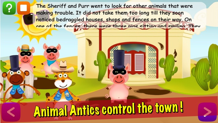 Animal Antics: Sheriff the Tiger's Adventure