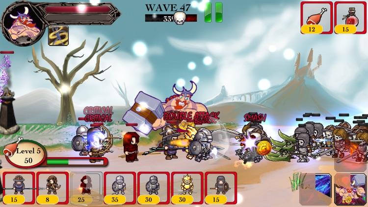 Barbarian Warrior vs Zombie Defense ACT TD - Hammer of Thor screenshot-4