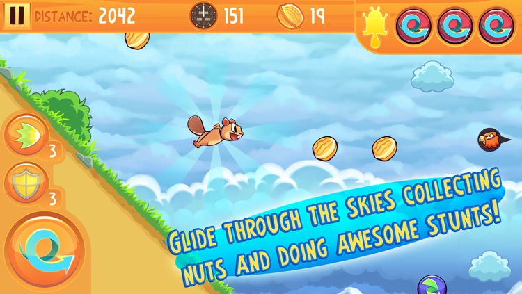 Kew Kew - The Crazy & Nuts Flying Squirrel Game
