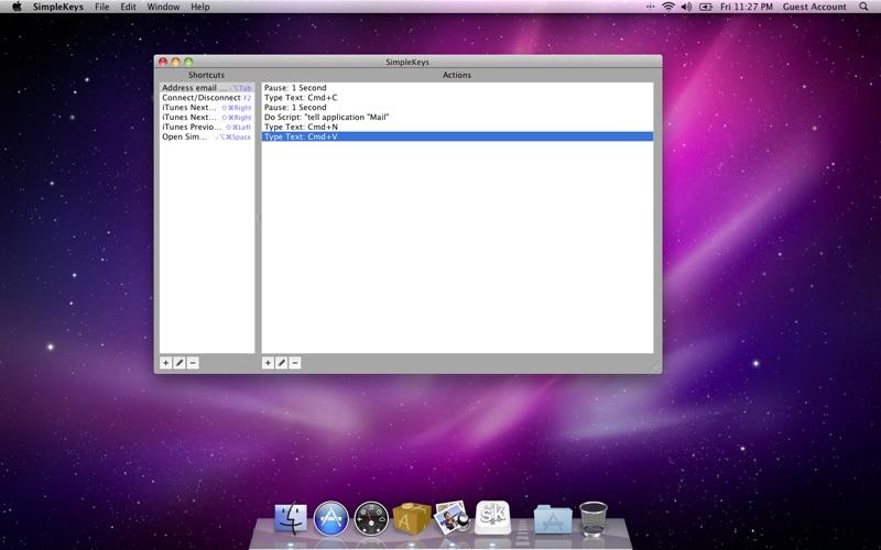 SimpleKeys скриншот программы 1