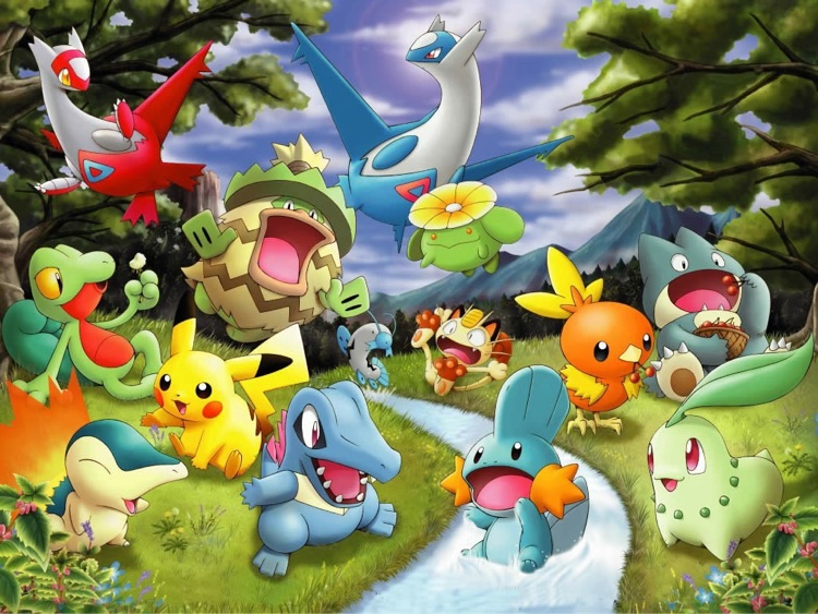 Anime Wallpapers for Pokemon screenshot-1