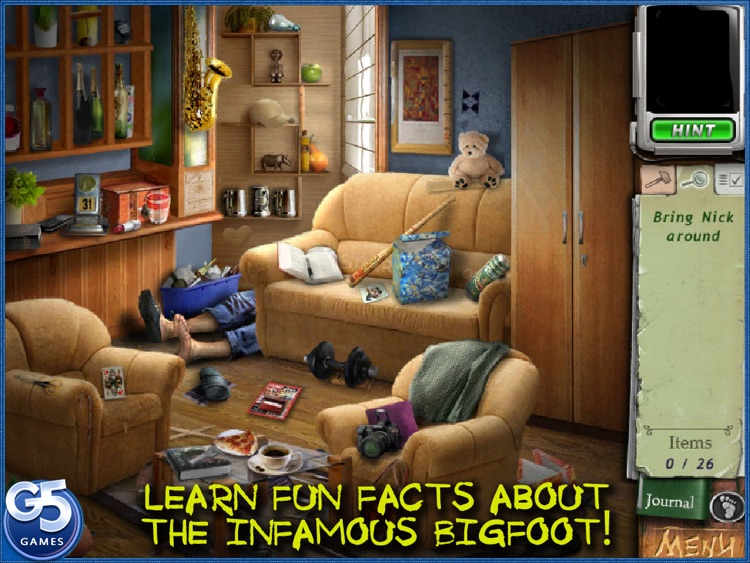 Bigfoot: Hidden Giant HD screenshot-3