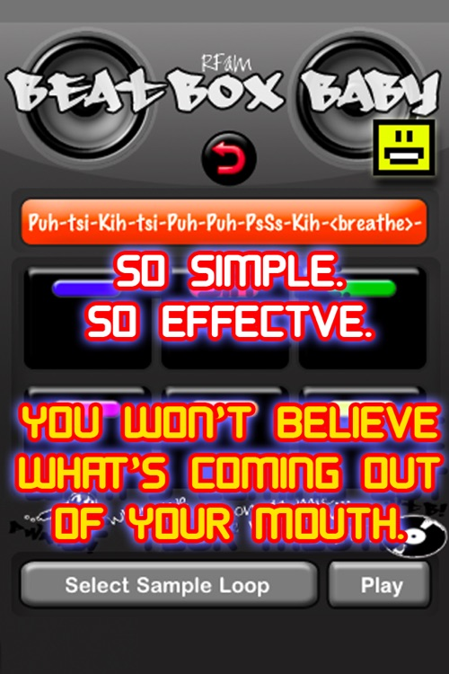Beat-Box Baby: Trainer and Voice Drum Machine HOT screenshot-3